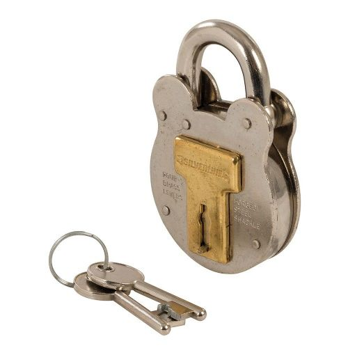 Silverline 376867 Old English Traditional Padlock 50mm